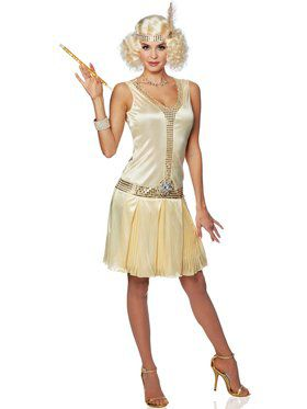 20's Debutante Flapper Dress Women's Costume