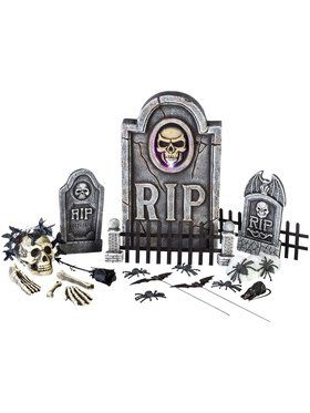 25 Piece Graveyard Kit