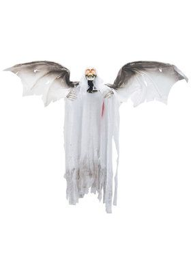 3' Bloody Flying Winged Animated Reaper Prop