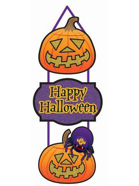 3 Tier Plaque Pumpkin Decoration