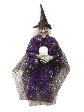 "36"" Witch with Crystal Ball"