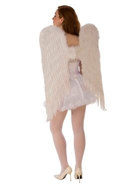 37 Inch White Wings Accessory