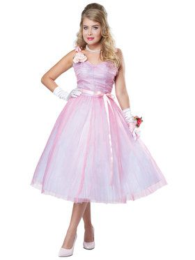 50's Angel Women's Costume