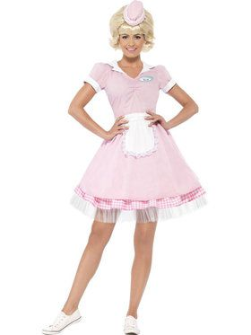 50's Diner Girl Women's Costume