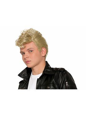 50's Greaser Wig Accessory Blonde