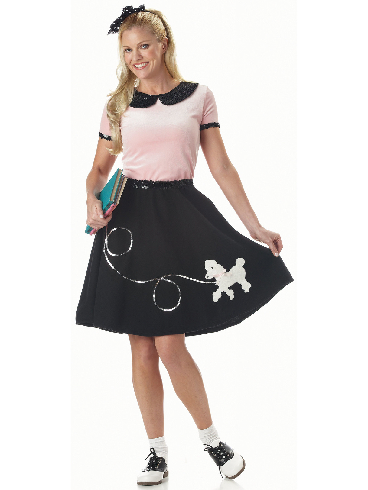 50s Hop with Poodle Skirt Togs for Women