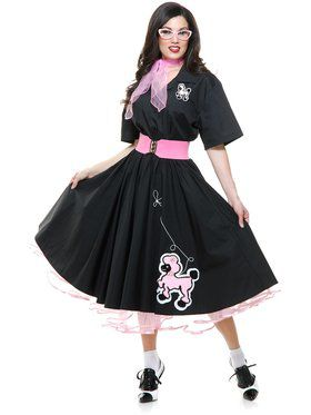 50's Poodle Skirt Women's Costume