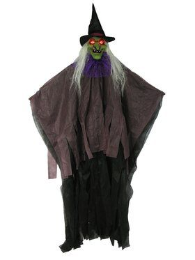 """57"""" Light Up Witch Decoration"""
