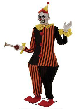 6' Animated Honky the Clown