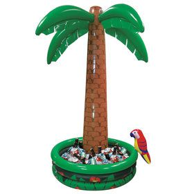 6 Foot Inflatable Palm Tree Cooler