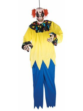 6 Foot Long Sinister Clown Prop