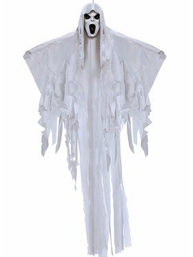 6 Foot Tall Hanging Ghost Prop