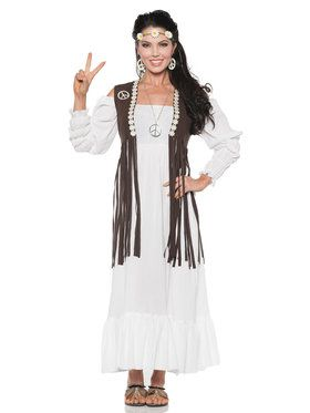 60's Earth Child Women's Costume