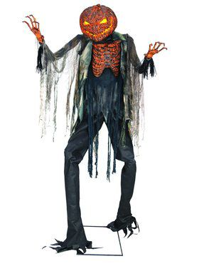 7' Scorched Scarecrow Decoration