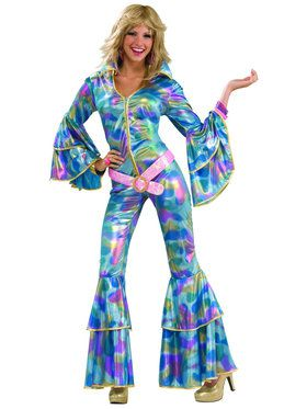70's Disco Mama Costume For Adults