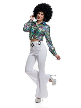 Women's 70's Diva Disco Shirt