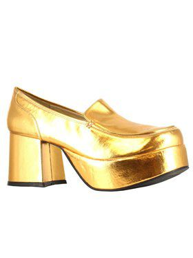 70's Pimp Shoe Gold for Men