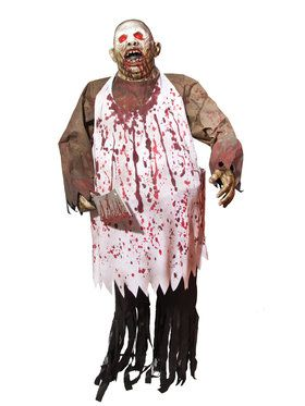 72 Inch Tall Chopping Brock Bloody Butcher Prop