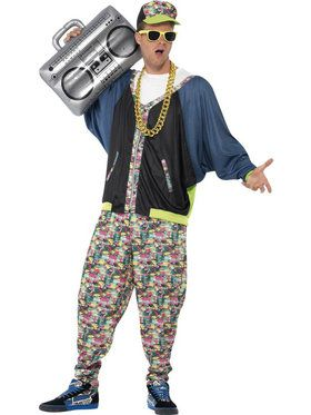 80's Hip Hop Costume Men's Costume