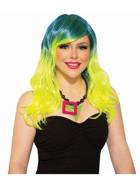80's Party Girl Adult Wig