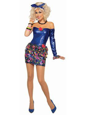 80's Pop Singer Adult Costume
