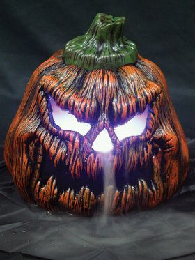 95 sinister pumpkin fogger - Animated Halloween Decorations
