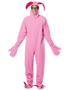 A Christmas Story Bunny Suit Men's Costume