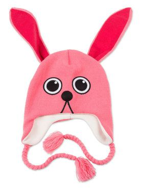 A Christmas Story Knit Pink Rabbit Hat