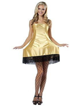 A Christmas Story Sexy Leg Lamp Dress Women's Costume