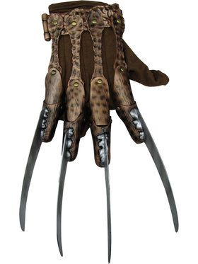 A Nightmare On Elm Street - Deluxe Freddy Glove For Adults