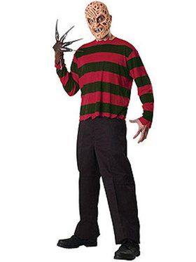 A Nightmare On Elm Street - Freddy Krueger Costume Kit For Adults
