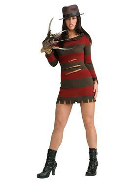 A Nightmare On Elm Street Sexy Ms. Freddy Krueger Costume