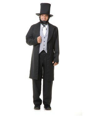 Adult's Abraham Lincoln Costume with Hat