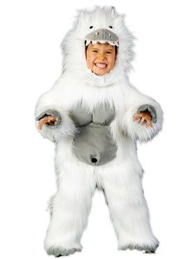 Abominable Snowman Child Costume