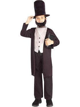 Abraham Lincoln Boy's Costume