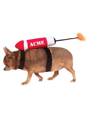 Acme Dynamite Pet Accessory Costume