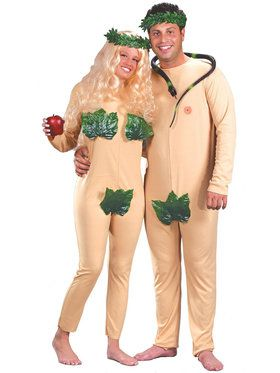 Adam Eve Costume For Adults