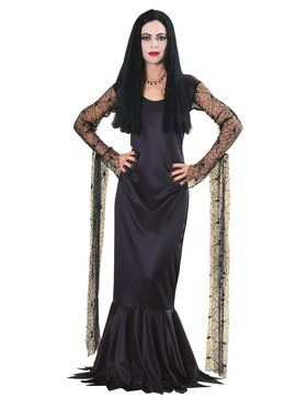 Addams Family Morticia Adult Costume