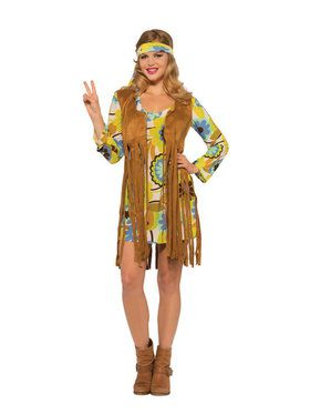 Adult 1960's Groovy Lady Sexy Costume
