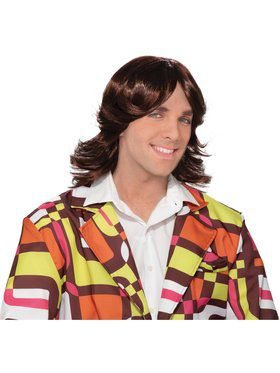 70s Dude Adult Wig