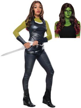 Adult Avengers Endgame Gamora Costume Kit