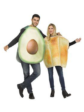 Couples Avocado & Toast Costume