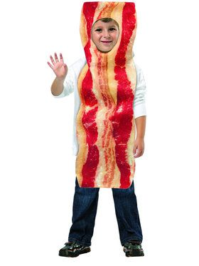 Adult Bacon Strip Unisex Costume