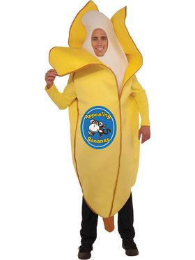 Adult Banana Unisex Costume