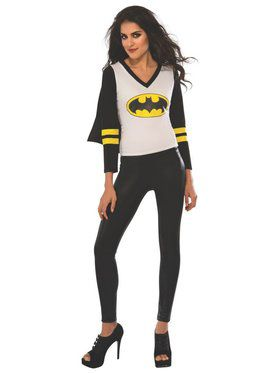 Sporty Batgirl Adult T-Shirt