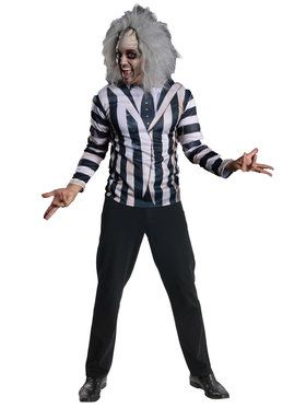 Adult Beetlejuice Costume Kit