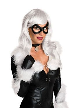 Black Cat Adult Wig