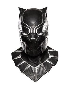 Black Panther Overhead Latex Mask