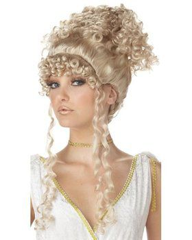Adult Blonde Athenian Goddess Wig
