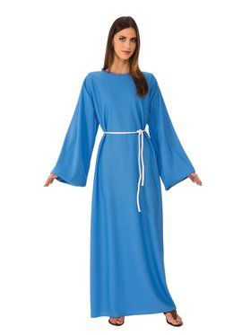 Adult Blue Biblical Robe for Halloween